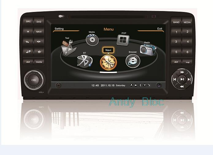 Car DVD for Benz R class 2007-2011 with Gps 8 inch RDS iPod Radio Bluetooth 3G Wifi 20 disc copying S100 platform ( TID-C215)(China (Mainland))