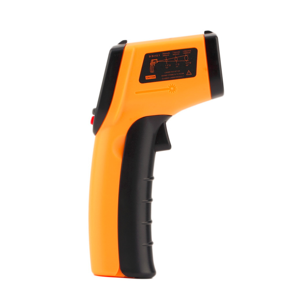 1 Pc Laser LCD Digital IR Infrared Thermometer GM320 Temperature Meter Gun Point -50~330 Degree Non-Contact Thermometer(China (Mainland))