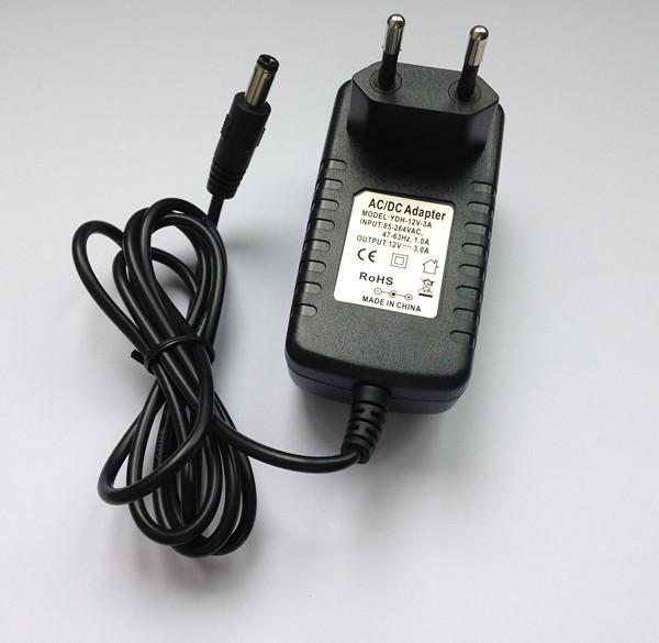 Гаджет  Free shipping 12 v3a European power adapter None Электротехническое оборудование и материалы