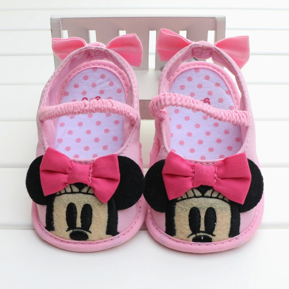 2016 New Hot Sale Pretty Cute Cartoon Baby Girl Infant Babies First Walker Shoes Soft Botton Non Slip Footwear Pink Moccasins<br><br>Aliexpress