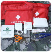 12Pcs/Set Automobile First Aid Kit Car First Aid Kit Bag Small Medical Box Emergency Survival Kit Car Treatment Pack Bag(China (Mainland))