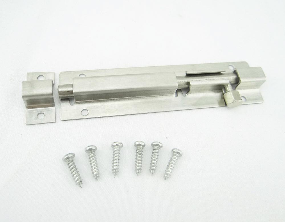 Bolt steel homeheavy duty quality sliding slide door bolt for Door bolt lock