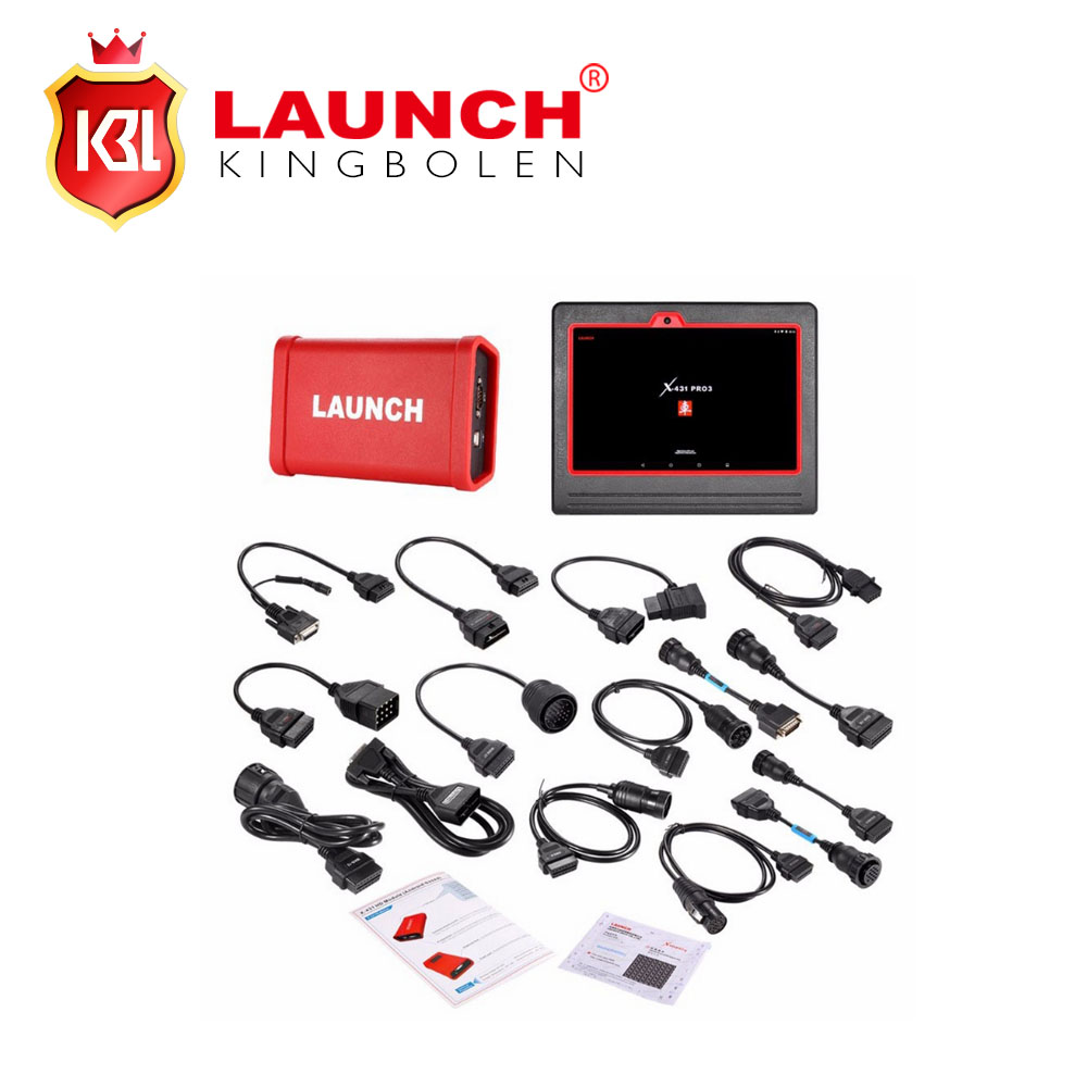 Hot LAUNCH X431 PRO3 Heavy Duty Truck Diagnostic Professional Truck HD Diagnostic Tool Based On Android Computer&Adatpers Box(China (Mainland))