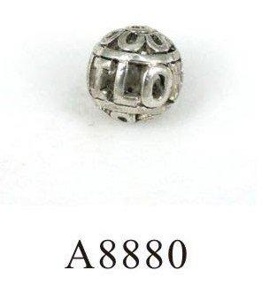Здесь можно купить  Free shipping Antique silver 15.5 mm Hollow Metal Jewelry Beads I LOVE U small size inside two hole Sold per 150pcs  Ювелирные изделия и часы