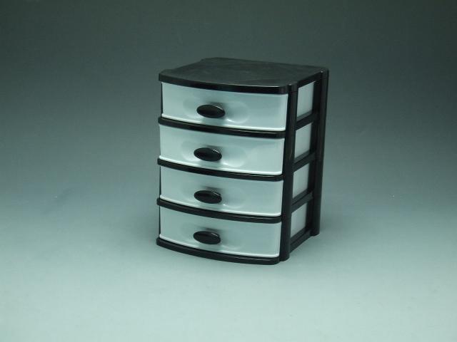 4 layer plastic drawer drawer storage drawer mini storage cabinet home storage drawer layer. Black Bedroom Furniture Sets. Home Design Ideas
