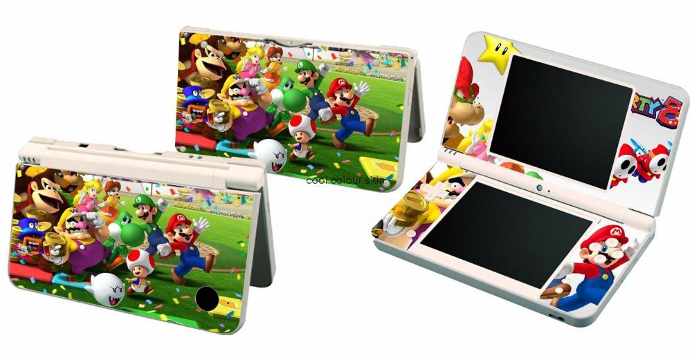 Mario Party 111 Vinyl Skin Sticker Protector for Nintendo DSI XL LL for NDSI XL LL skins Stickers(China (Mainland))