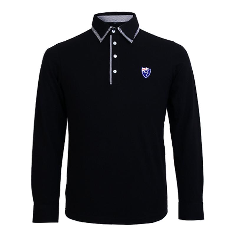 Brand PGM 2015 top quality Men's Casual polo shirts quick dry T shirt summer men's classic cotton long-sleeved golf tshirt(China (Mainland))