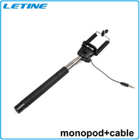 For Travel Life! Z07-5S Selfie Bluetooth Monopod Extendable Stick Handheld with Remote Button Audio Cable Free Shipping