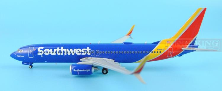 GeminiJets Southwest Airlines N/C G2SWA529* 1:200 B737-800S commercial jetliners plane model hobby(China (Mainland))