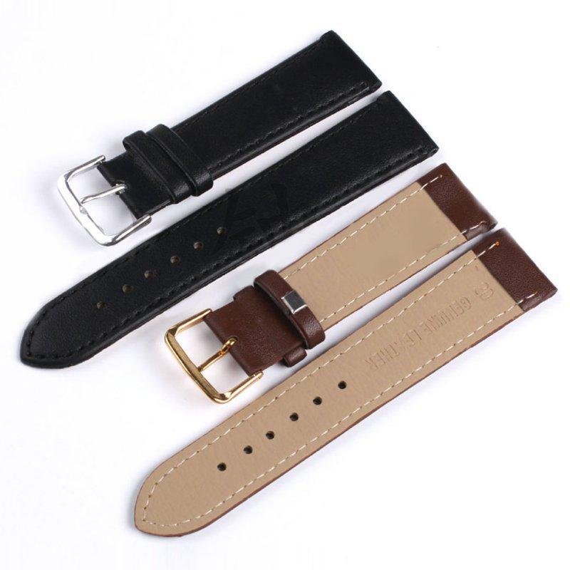 Гаджет  Hot Sales Unisex 4 Colors Genuine Leather Alligator Crocodile Grain Watch Strap Band None Часы