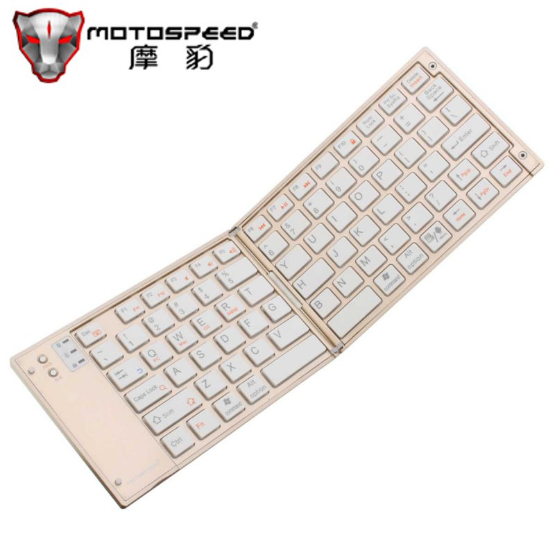 MOTOSPEED BK40 Universal Foldable Wireless Bluetooth Keyboard for iPad for iOS Android Smartphone Tablet Portable Mini Keyboard(China (Mainland))