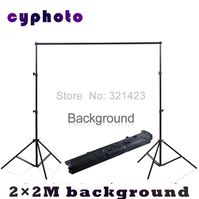 Free Tax To Russia 2*2M 6.5FT*6.5FT Photography Background Photo Backdrops Support System Stands studio +carry bag(China (Mainland))