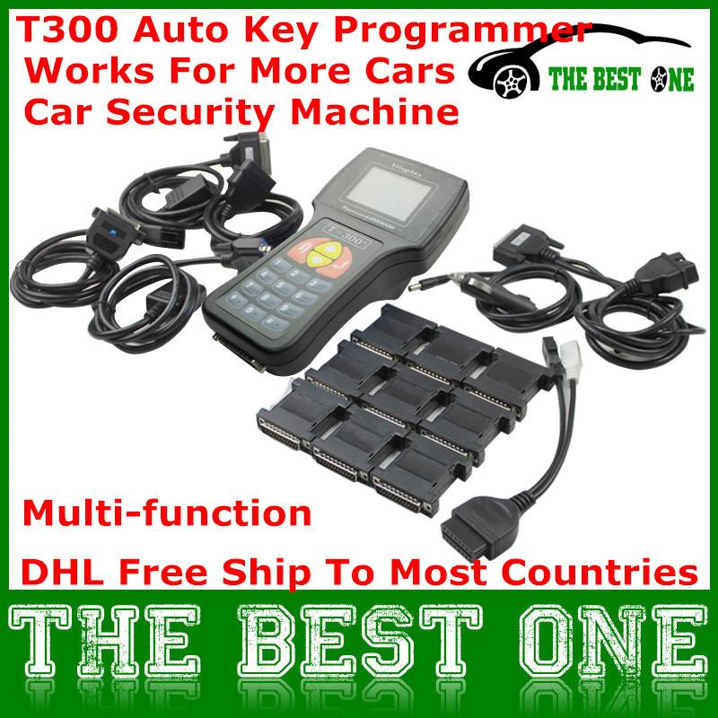 2015 Hot Sale Professional Newest V15.8 T300 Key Programmer T-300 T 300 Auto Car Key Maker English/Spanish Available Full Set(China (Mainland))