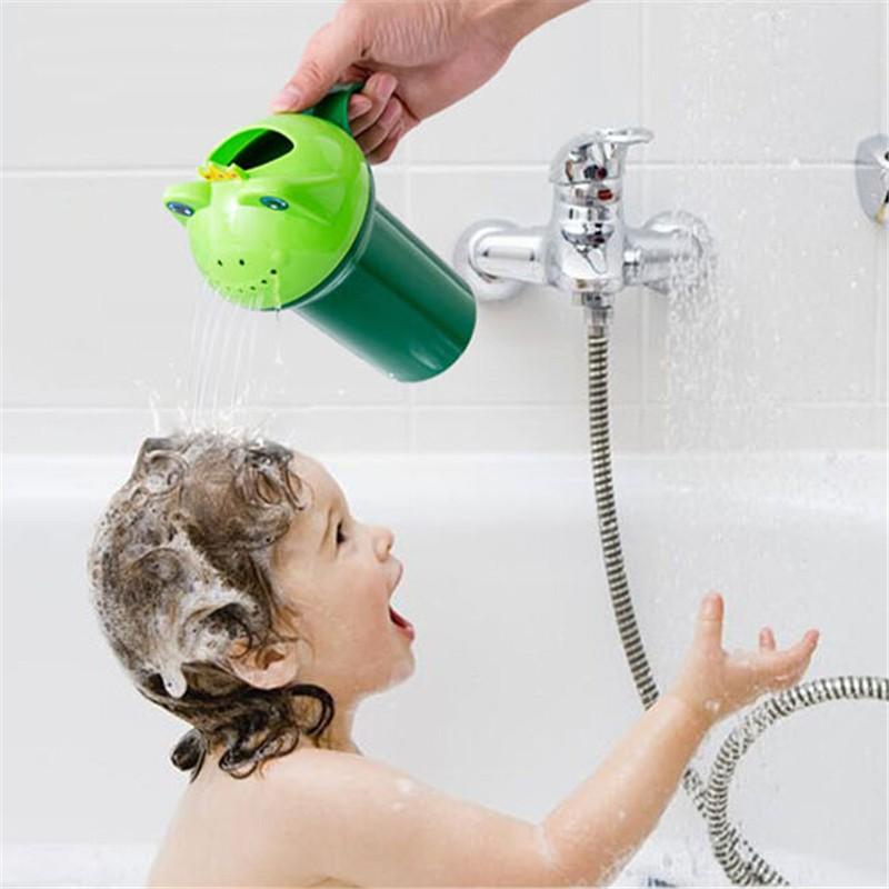 Baby Bath Wash Head Floating Toy Flower Pot Bath Classic Cute ...