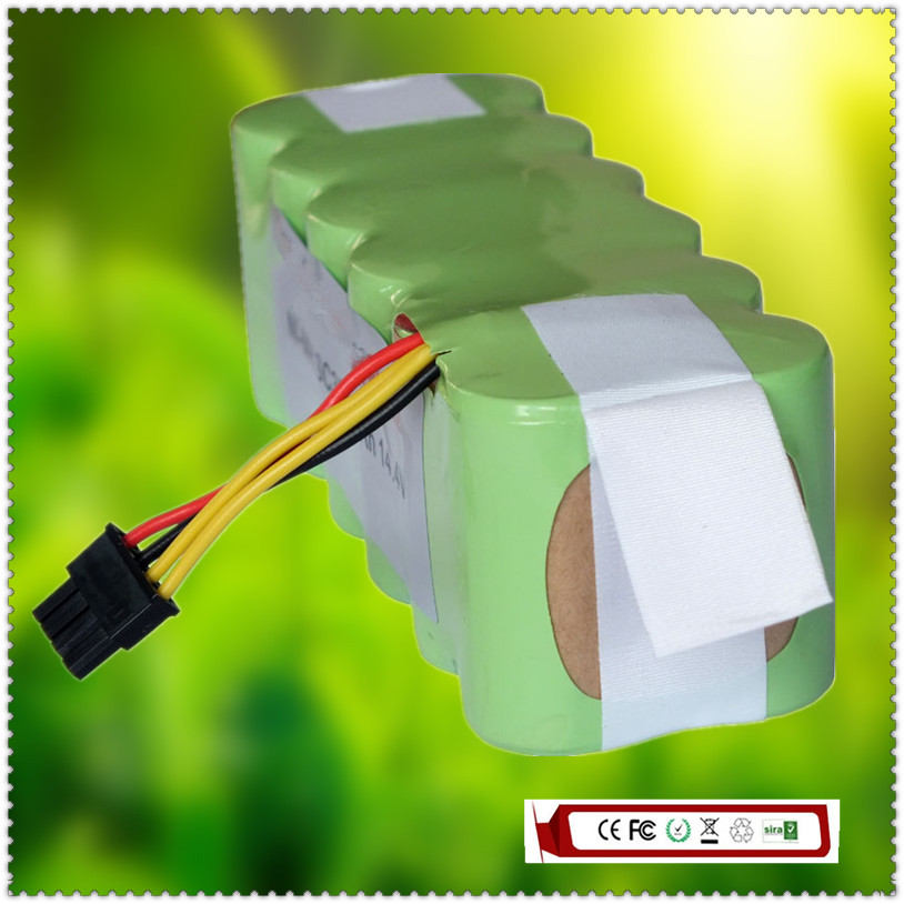 14.4V SC 3500mAh Ni-MH Rechargeable Battery for E-R300G/E-550W/E-550G/E-551P/E-R310A Robot Vaccum Cleaners(China (Mainland))