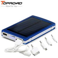 Portable Solar Charger Power Bank 10000mah External Mobile Battery Backup Powerbank bateria externa for iPhone PC MP3 PSP Camera(China (Mainland))
