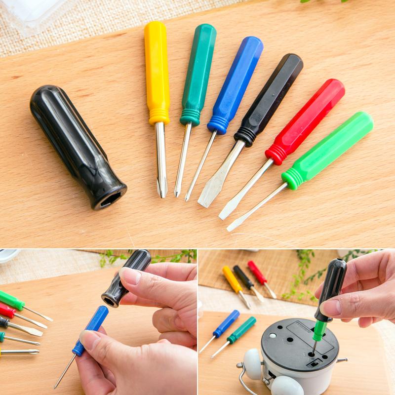 Japan ECHO combination screwdriver, Phillips screwdriver set word portable multifunction tools<br><br>Aliexpress