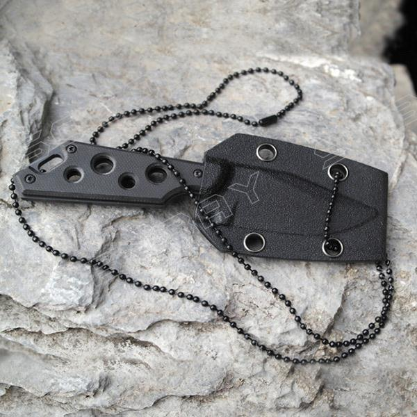 Outdoor Hunting Knife Delta Necklace Knife Small Straight Knife