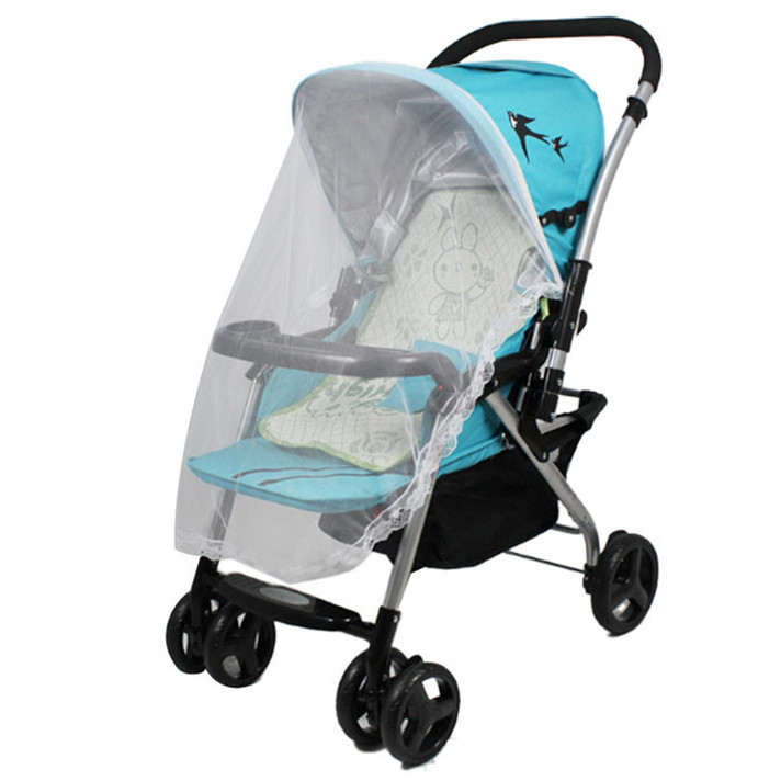 Best seller Mesh Baby Stroller Bed Mosquito Netting Safe Carriage Insect Full Cover Net keep insects away from your baby(China (Mainland))