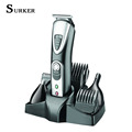 Surker Professional Hair Trimmer 5 In 1 Electric Hair Clipper Shaver Sets Electric Shaver Beard Trimmer