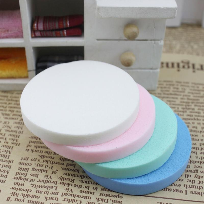15 x случайный цвет! мягкий facilal губки гладкая поверхность макияж фонда блендер безупречной пуховкой красоты для макияжа на лице инструмент