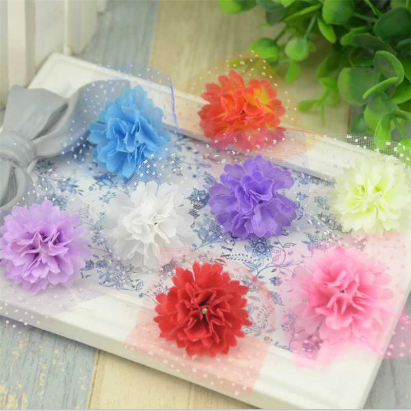 20pcs 3cm Wholesale Artificial Gerbera Daisy Silk Flowers Heads For Wedding Decoration Headmade Scrapbooking Mini Fake Flower(China (Mainland))