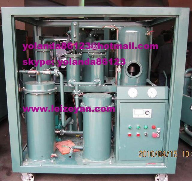 Lubricant Oil Purifier Equipment/Lubricant Oil Purification Device/Lubricant Oil Filtration Plant