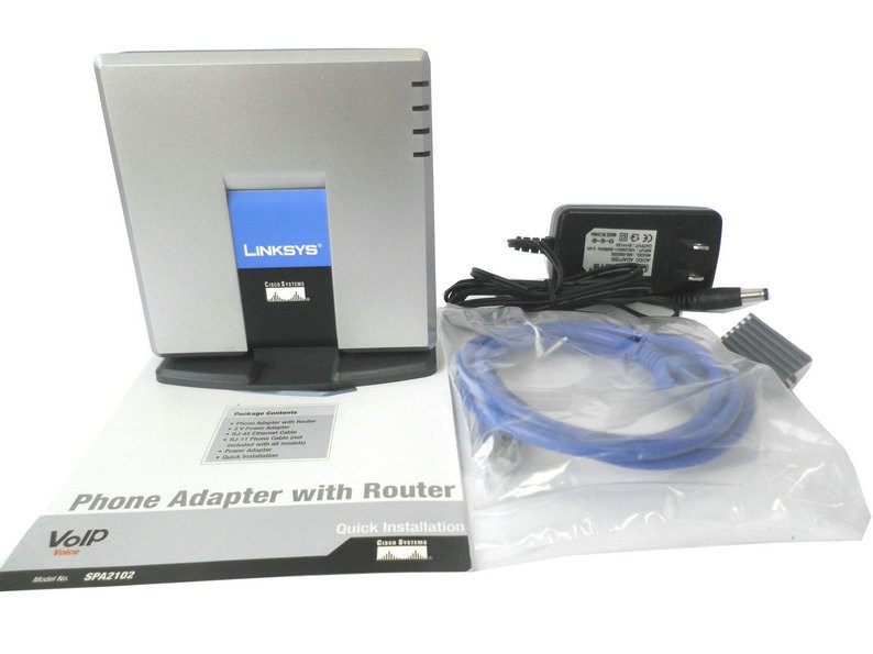 LINKSYS PAP2T-NA SIP VOIP Phone Adapter VoIP phone Linksys PAP2T Internet Phone Adapter Two Phone Ports without retail box(China (Mainland))