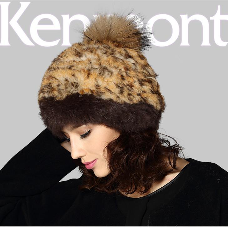 New Winter Women Lady Dark Color Hat 100% Rabbit Hair Fur Handmade Hat For Valentines Gift 1351Одежда и ак�е��уары<br><br><br>Aliexpress