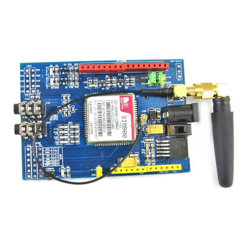 SIM900 Module Quad-Band Development Board GSM GPRS Wireless Data for Arduino Raspberry Pi(China (Mainland))
