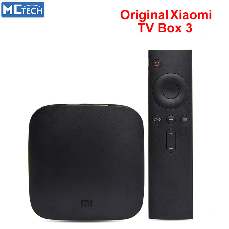 Free Shipping XiaoMi Mi tv box 3 Wifi Amlogic S905 64bit Quad Core 1GB DDR3 Android 5.0 Smart 4K HD TV Box Kodi15.2 media player(China (Mainland))