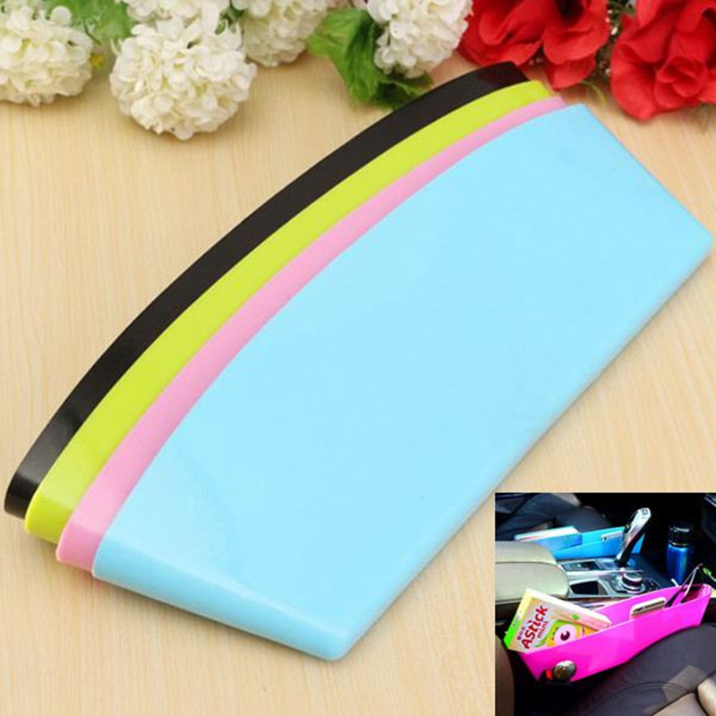 Hot Cre-ative Car Seats Cracks Box Candy Color Plastic Compressible Sun-dries Storage Box Eco-Feiendly Decor Tools(China (Mainland))