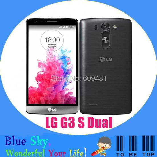 LG G3 Beat Dual original mobile phone LG G3 S Dual D724 dual sim quad core 1.2GHz 1G RAM 8G ROM 5.0 inch 8MP camera(China (Mainland))