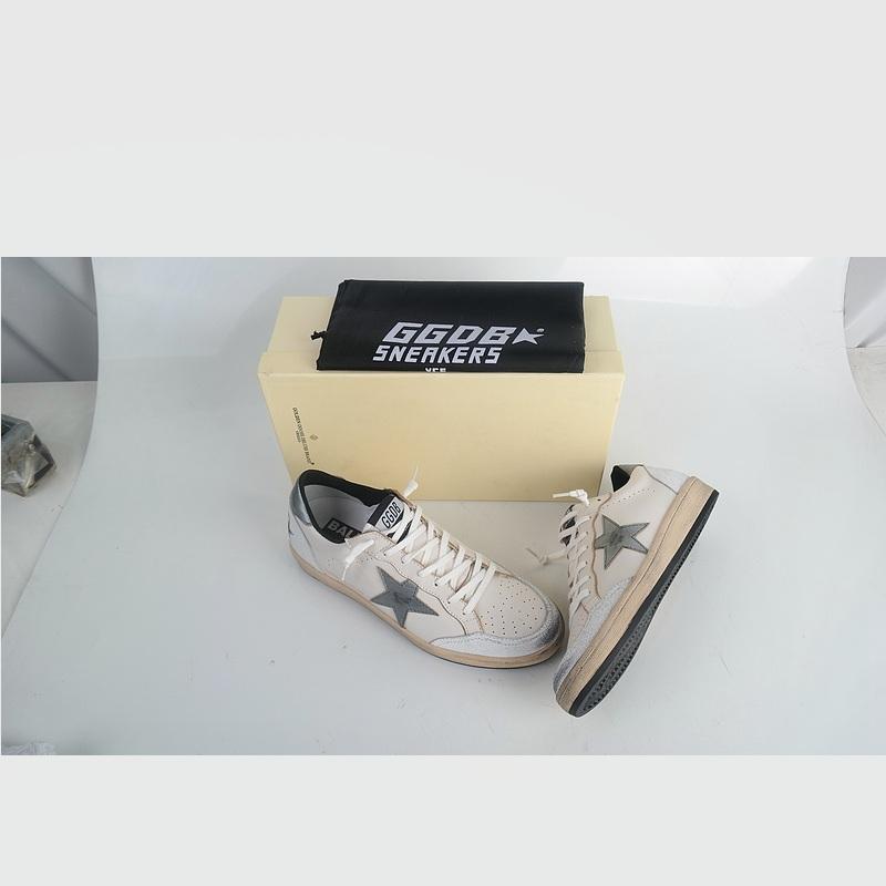 Original Golden Goose GGDB Superstar Men Women Casual Shoes White Shoes Woman Genuine Leather Scarpe Da Donna Uomo Original