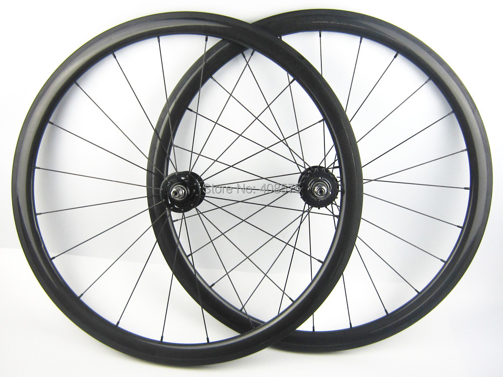 single speed bike wheel carbon fiber bicycle wheel set 700C 38mm clincher fixed gear fixies or tubular<br><br>Aliexpress