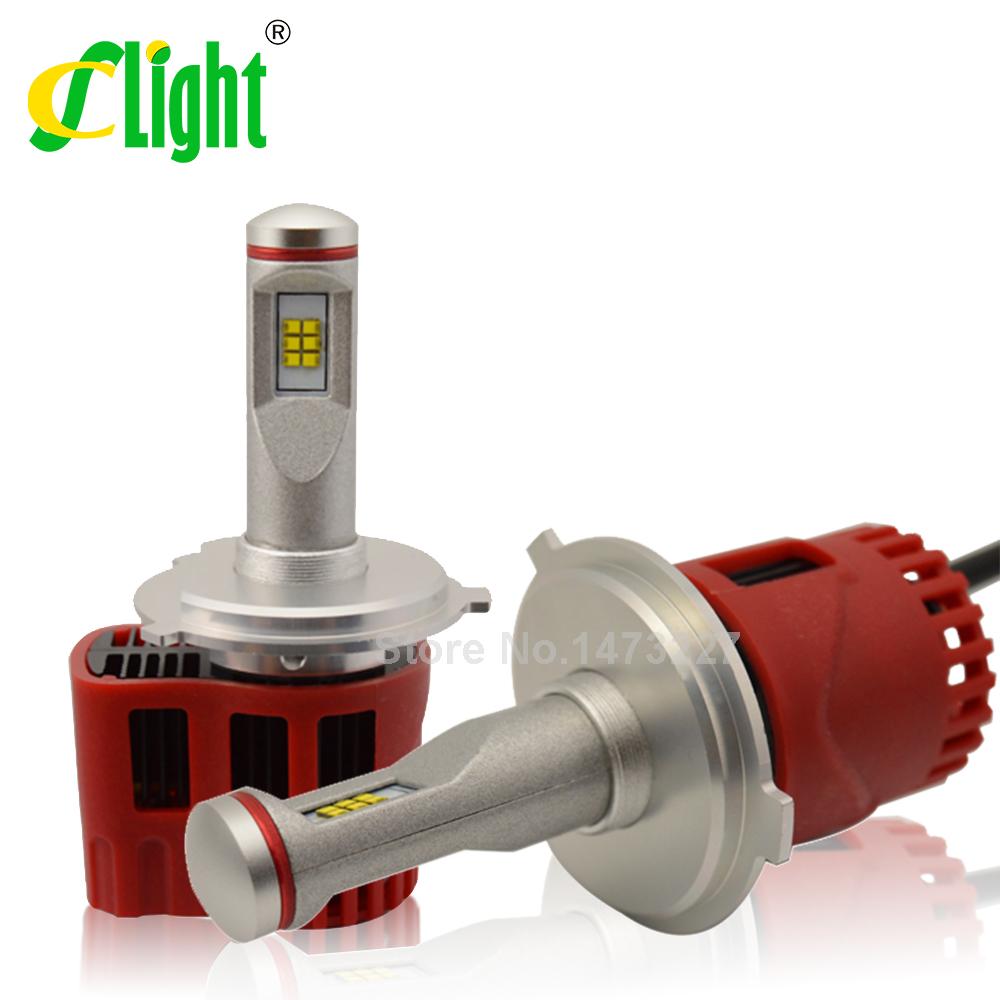 2pcsx H4 HB2 H4-3 High Low Beam 90W/Set 9000LM 12V P hilips SMD LED Super Strong Bright Car Fog Headlight LED Conversion Kit<br><br>Aliexpress