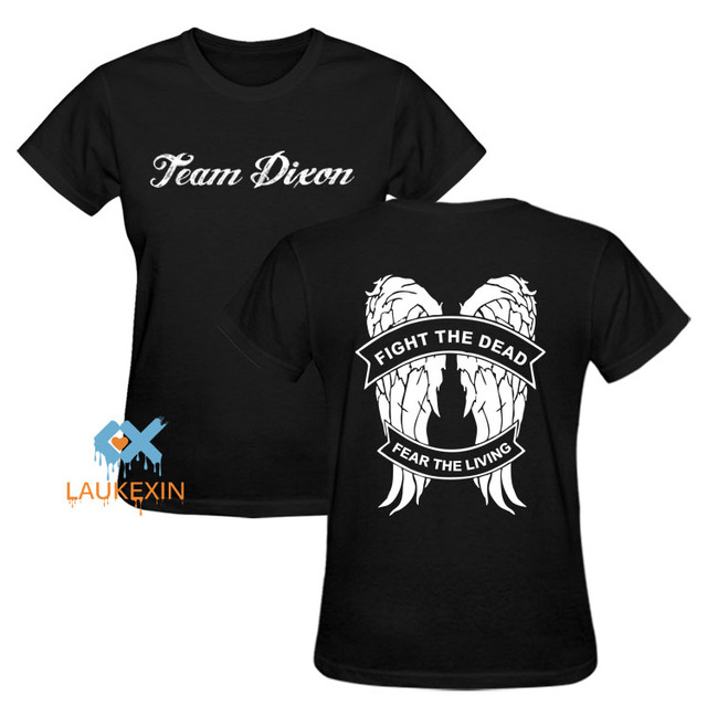 The Walking Dead Daryl T-Shirt – Team Dixon Angel Wings Tee