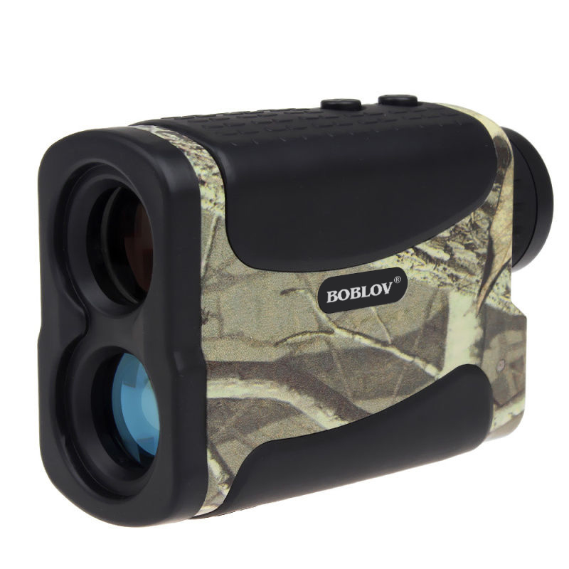 BOBLOV 600M Multifunction 6x Laser Range Finder Monocular Telescope For Hunting Golf Distance Camo Rangefinder Free shipping