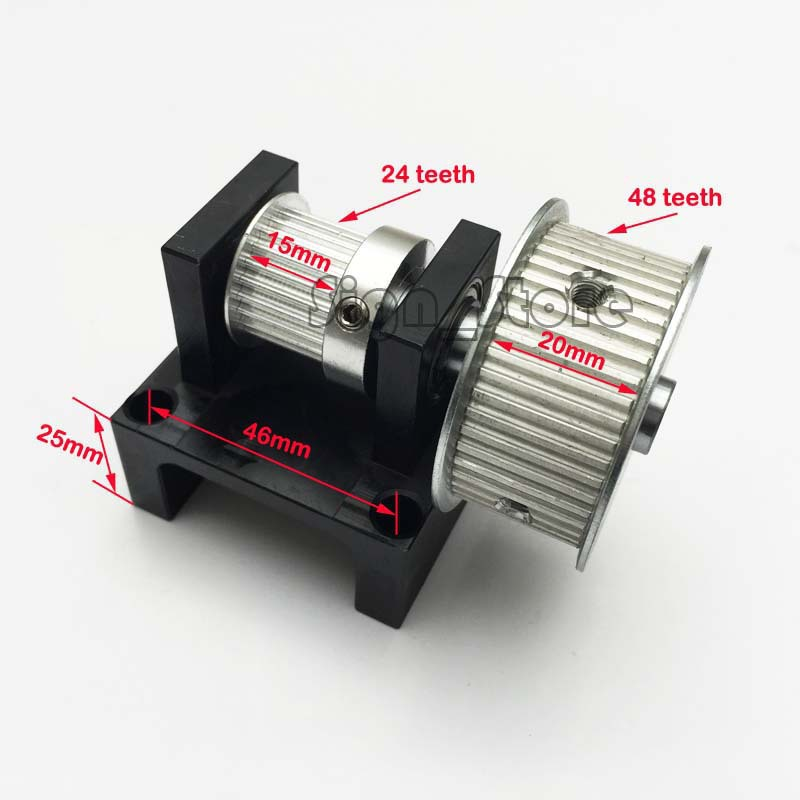 Xl Pulleys And Belts : Xl timing belt pulley teeth diy laser