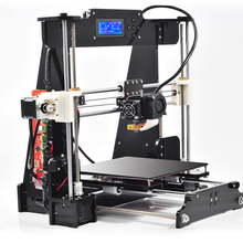 2 color Upgraded Quality High Precision Reprap Prusa i3 DIY 3d Printer kit with 2 Rolls Filament+ LCD +8GB SD card+DHL Shipning
