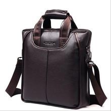 business shoulder messenger male bags for men pu leather tote handbag bag men black brown color high quality
