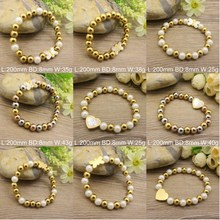Hot Selling Wholesale Stainless Steel Fashion Popular New pattern Bracelets Jewelry for women BEWDAGBG(China (Mainland))