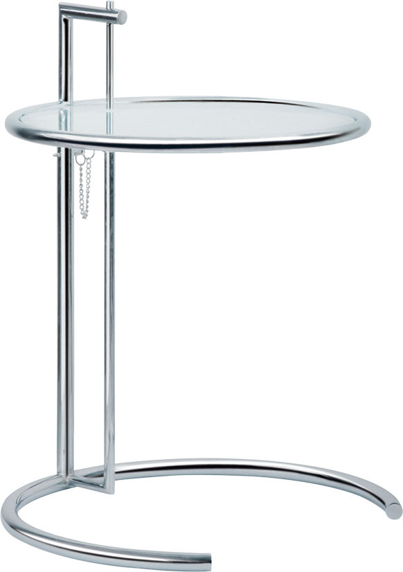 3 pieces/lot glass top steel base adjustable coffee table tea table(China (Mainland))