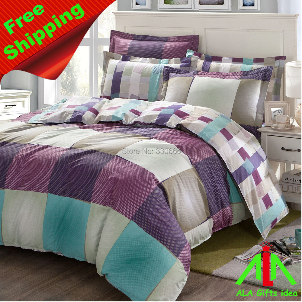 Brand new home textile, bedding set, comforter cover 100% cotton - ALA Gifts Idea store