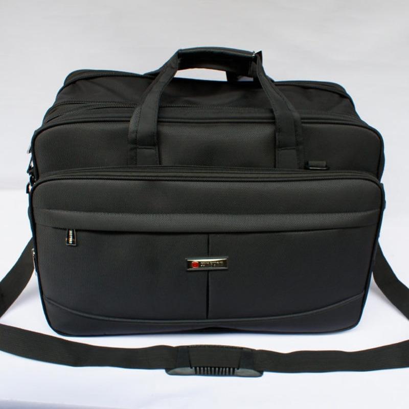 Super capacity portable laptop bag 19 18 17.3 17 inch Big capacity Shoulder Messenger Business multifunction man computer bag(China (Mainland))