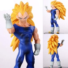 Hot Sale 16CM Anime Dragon Ball Z Super Saiyan Vegeta vitality Dan PVC Action Figure Collection Model Toys Free Shipping