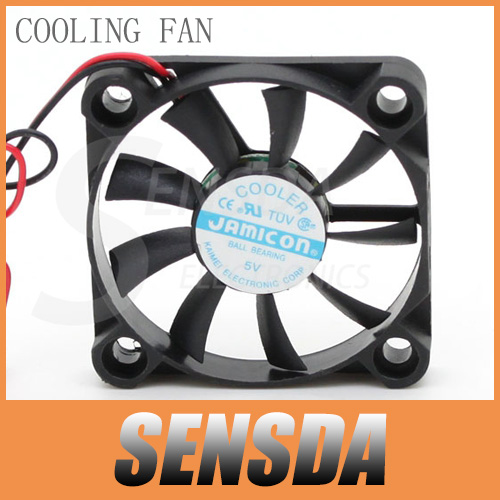 Free Shipping JAMICON 5V 4007 4CM 40mm 7mm thickness DC 5V mini micro best silent quiet computer case cpu inverter cooling fans(China (Mainland))