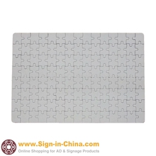 """20pcs / pack 13.3"""" x 10.2"""" White Color Rectangle Dye Sublimation Blank Jigsaw Puzzle Child DIY Games Toy Heat Transfer(China (Mainland))"""