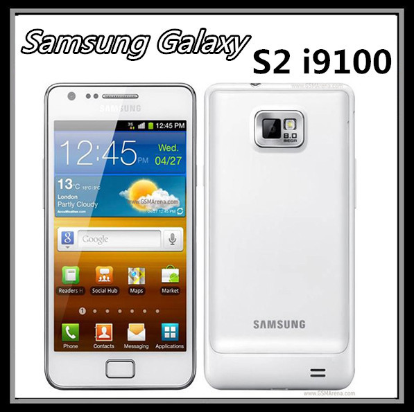 "Samsung Galaxy S2 i9100 mobile 3 g 8 mp camera android dual-core 4.3 ""touch 16 gb storage renovated unlock the phone(China (Mainland))"