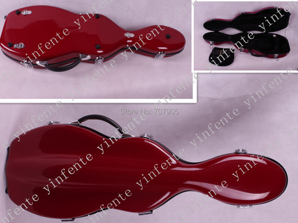 dark red    color    4/4 Violin case Glass Fiber Soft Imitate Leather Pink White Black #GF31<br><br>Aliexpress